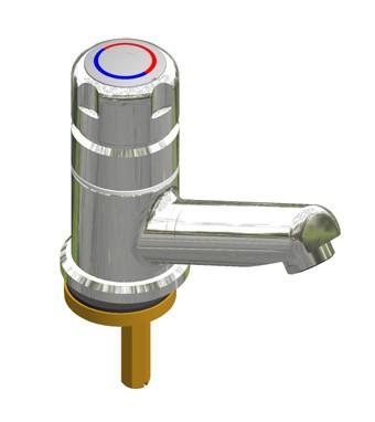 Selbstschluss-Eingriffmischer SaniMisch W -Ausladung 120mm