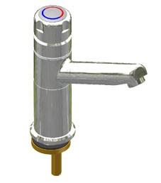 Selbstschluss-Eingriffmischer SaniMisch W VA-Ausladung 156mm