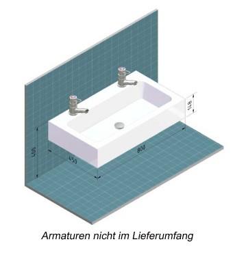 Krippenkinder-Waschtisch LOUIS 2 - V2408