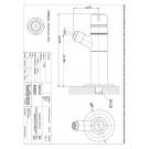 Selbstschluss-Wandventil Ausladung 160mm