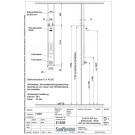 *NEU* Einzelbrauseelement mit Thermostat/Piezotaster/einstellbar